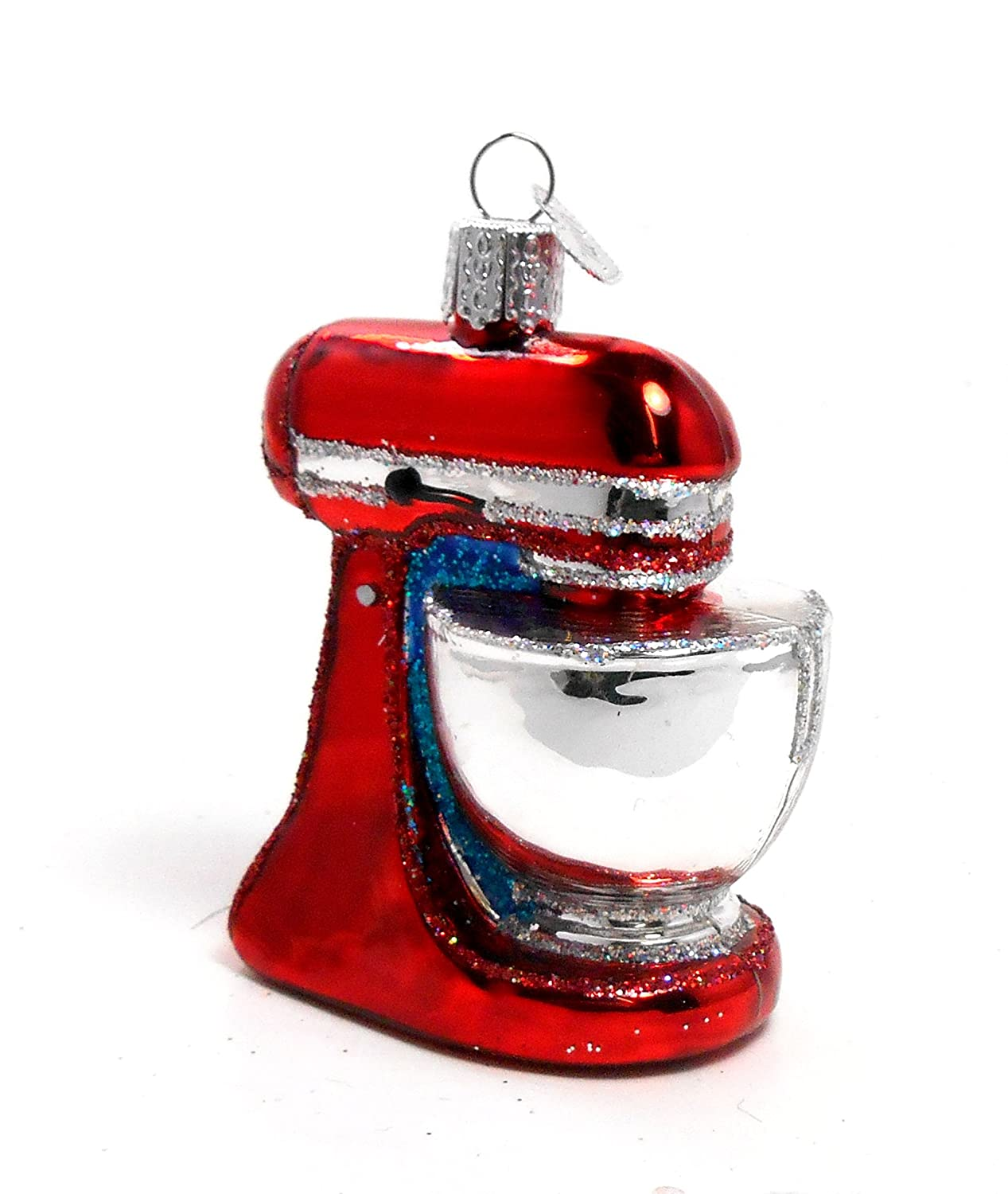 Amazon.com: Old World Christmas Kitchen Stand Mixer Appliance Mouth ...