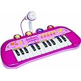 Bontempi IGirl  33.3 x 22.2 x 12.5cm Electronic Keyboard with Microphone Dim
