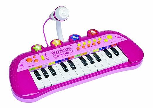 50 opinioni per Bontempi MK 2971- Tastiera Elettronica a 24 Tasti Con Microfono