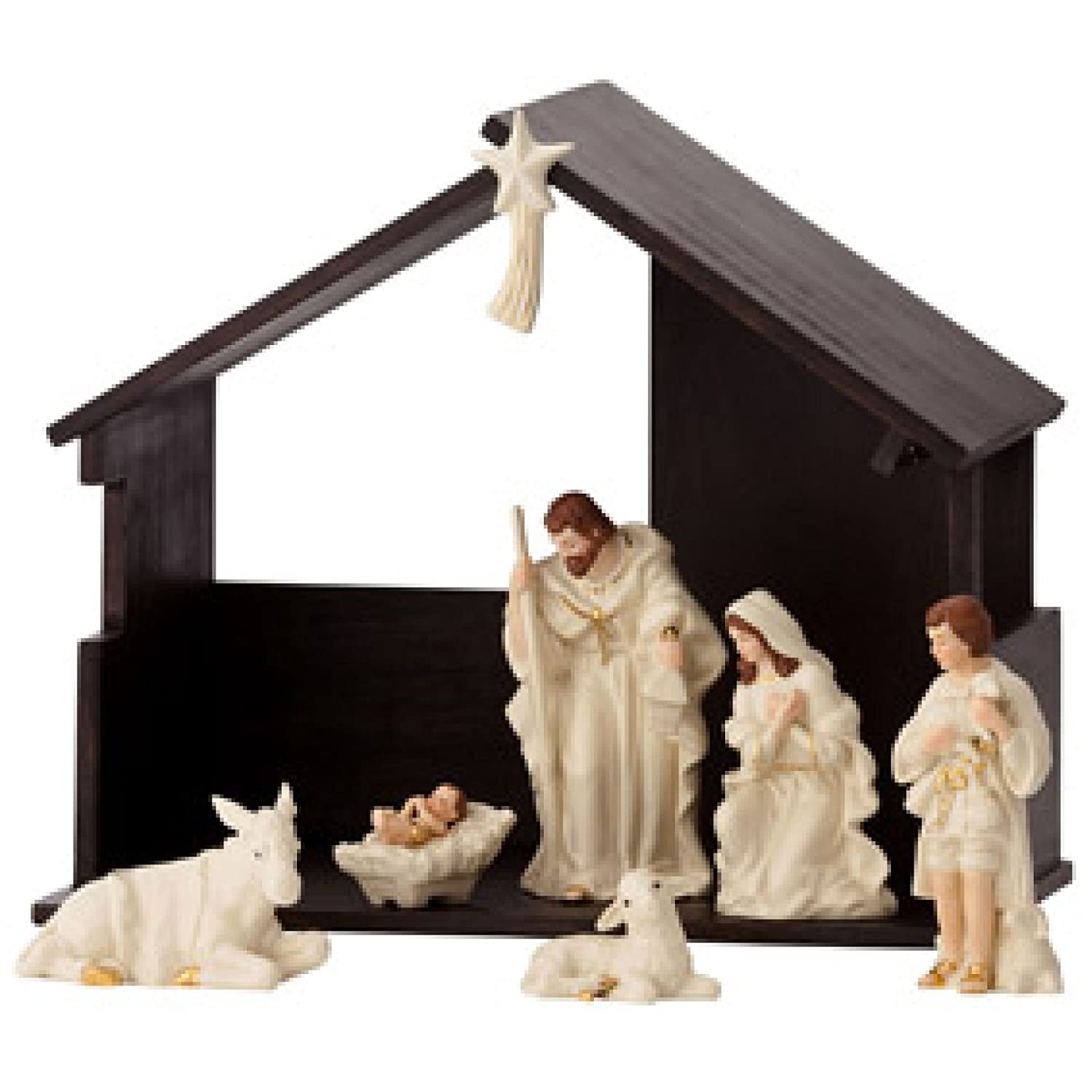 Belleek Nativity Set 7249