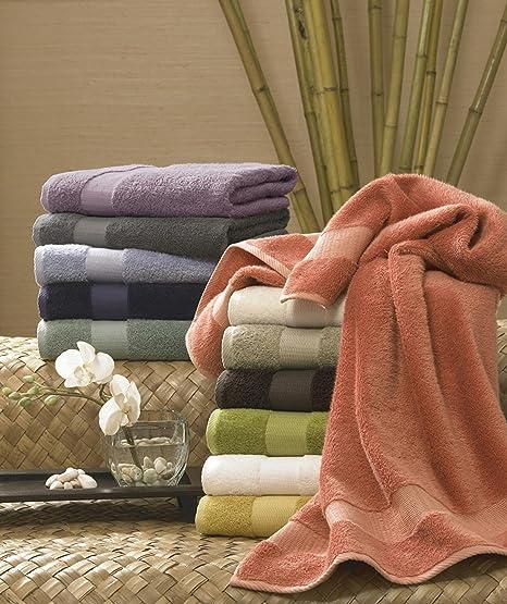 Turkishtowels absorbente juego de toallas con 21 x 34 alfombra de baño, lluvia