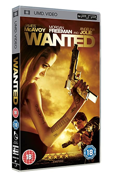 WANTED Movie PHOTO Print POSTER Textless Film Art Angelina Jolie James McAvoy 02