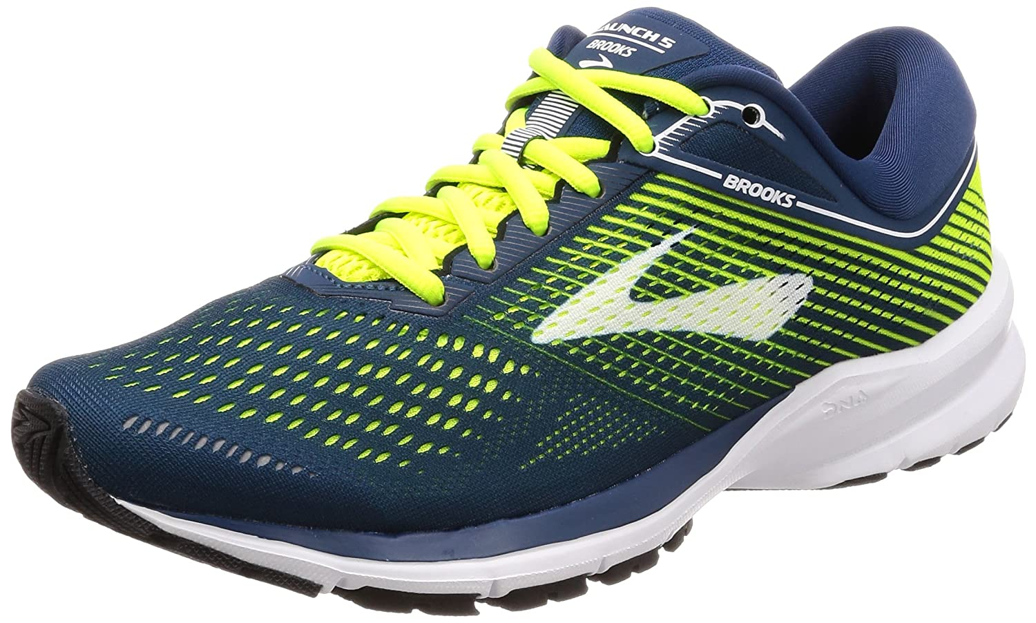 2695cc0cf2fe0 Brooks Men s Launch 5 Running Shoes  Amazon.co.uk  Shoes   Bags