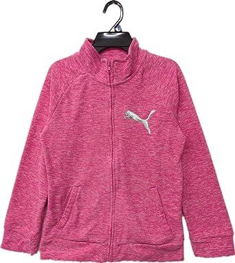 Adidas Youth Girl/'s Full Zip Polar Fleece Zip Up Hoodie Multiple Colors