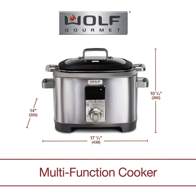 Amazon.com: Wolf Gourmet WGSC120S - Olla multifunción ...