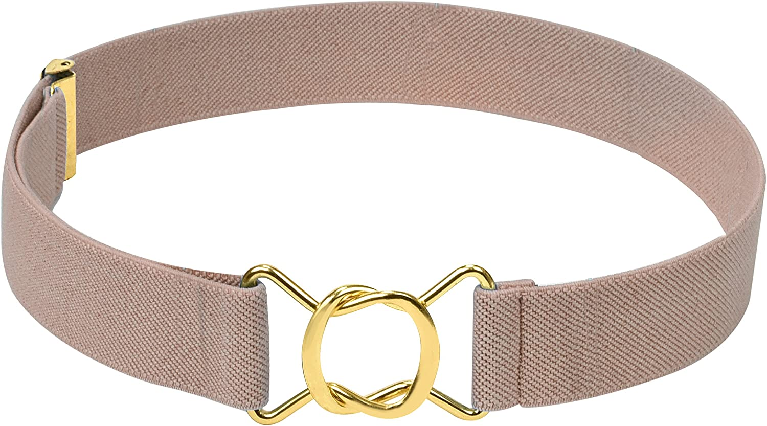 Hold/'Em Kids Toddler Clasp Gold Buckle Belt-Lavender