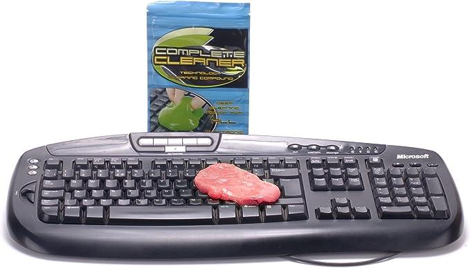 Ordinateur Mobile et Autres Objets du Quotidien ANNIUP Lot de 3 mastics r/éutilisables pour Nettoyer Les claviers de Votre PC