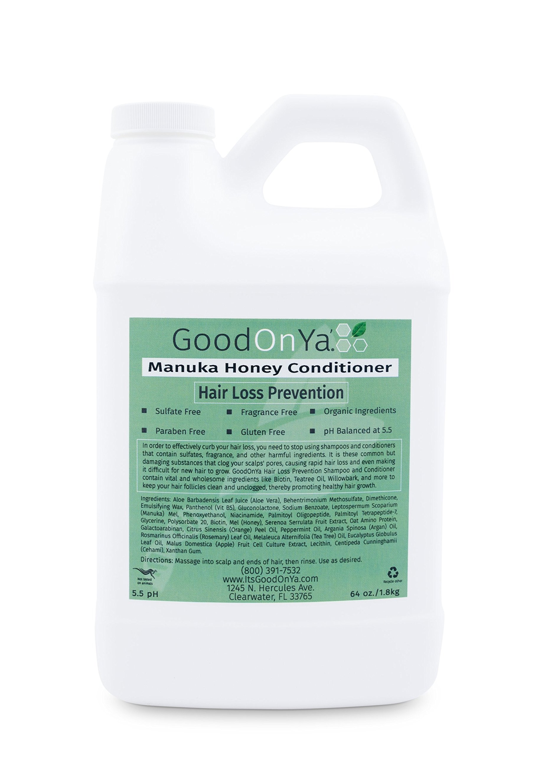 Hair Repair Deep Conditioner with Manuka Honey by GoodOnYa Hair Products. Amazing for Dry, Damaged Hair (64 oz)