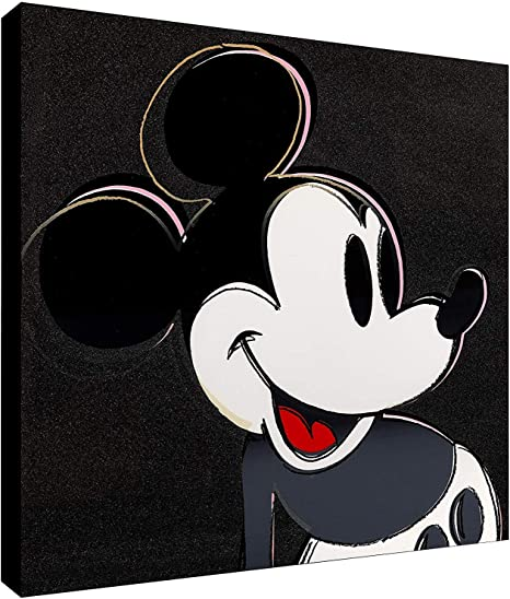 Disney Fantasia Mickey Mouse Poster Art Print Black /& White Card or Canvas