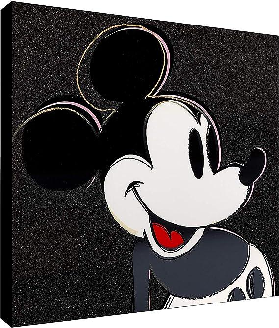 Mickey Mouse Disney Cartoon Poster Canvas Print 80x60cm #115460