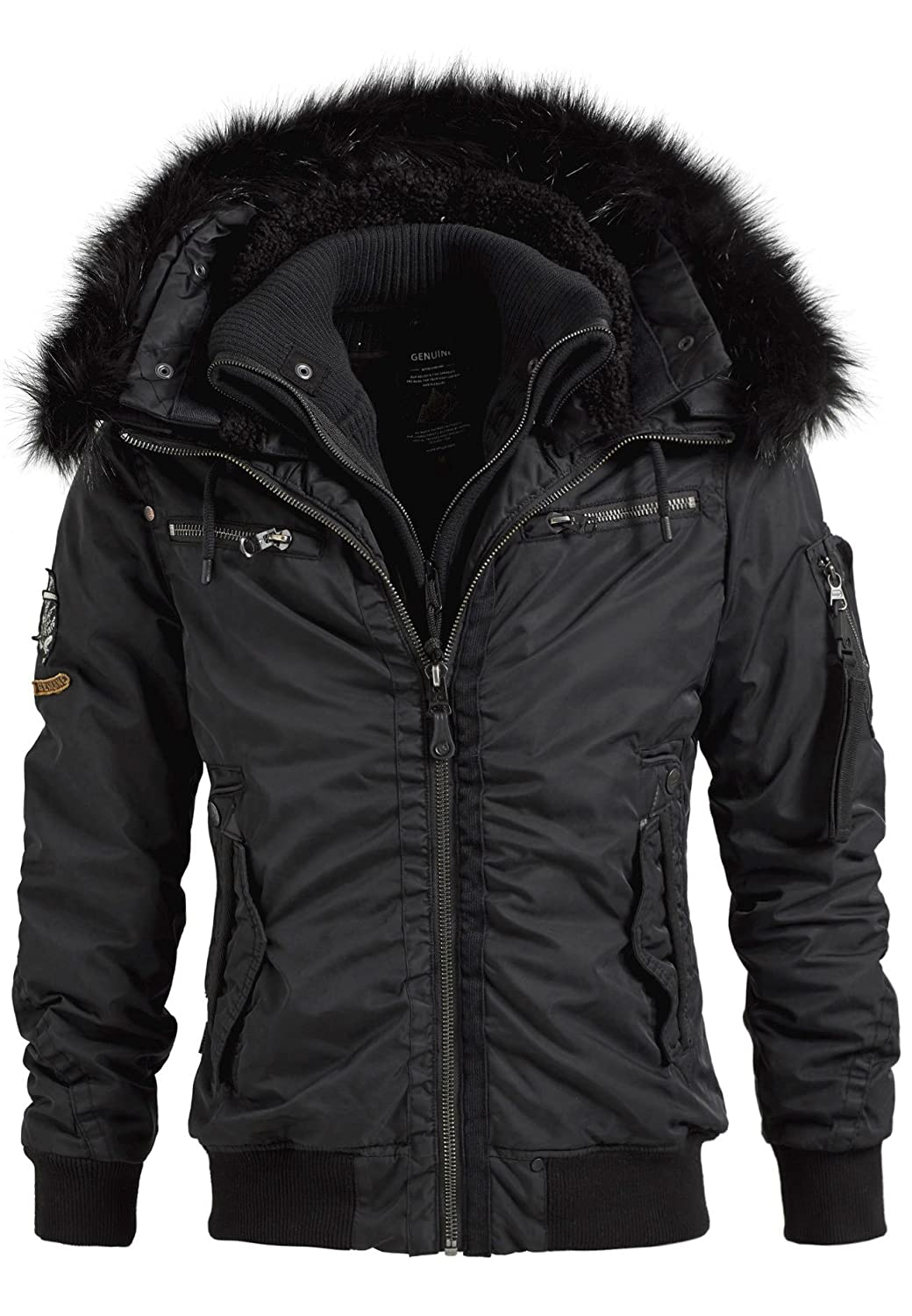 d9d2dd23a36 Khujo Tyson with Inner Nylon Washed Jacket