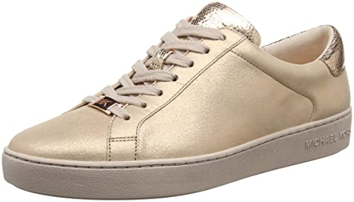 be753dee2a2a Michael Kors Women s Irving Lace Up Trainers  Amazon.co.uk  Shoes   Bags