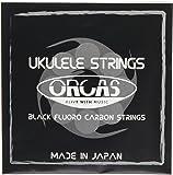 【ORCAS】 ウクレレ弦 セット OS-MED (ミディアムゲージ ソプラノ  コンサート用)