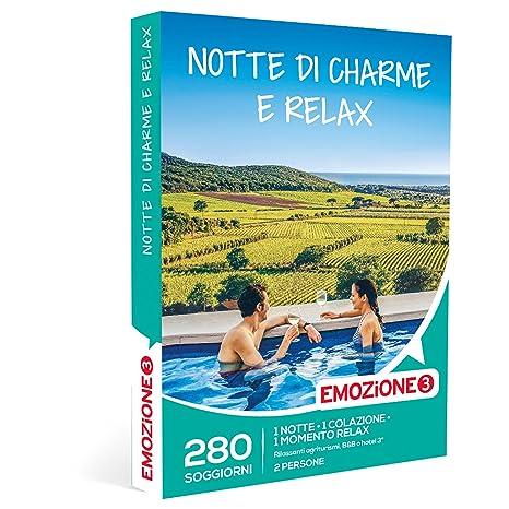 EMOZIONE3 - Cofanetto Regalo - NOTTE DI CHARME E RELAX - 280 ...