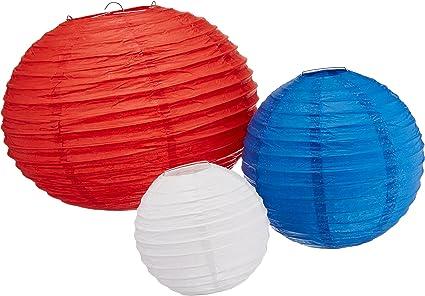 5 Pieces 2402278 amscan 5 Lanterne Blast off Multicolore
