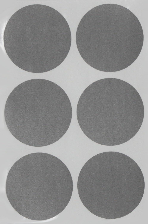Etiketten Grau 50 mm runde Punkt Aufkleber in verschiedenen Farben Gr/ö/ße 5 cm Durchmesser Sticker 72 Vorteilspack von Royal Green