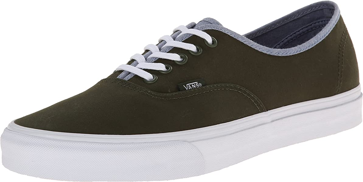 8d0c8811f2 Amazon.com | Vans Authentic Mens Size 11 T&C Rifle Green Captains ...