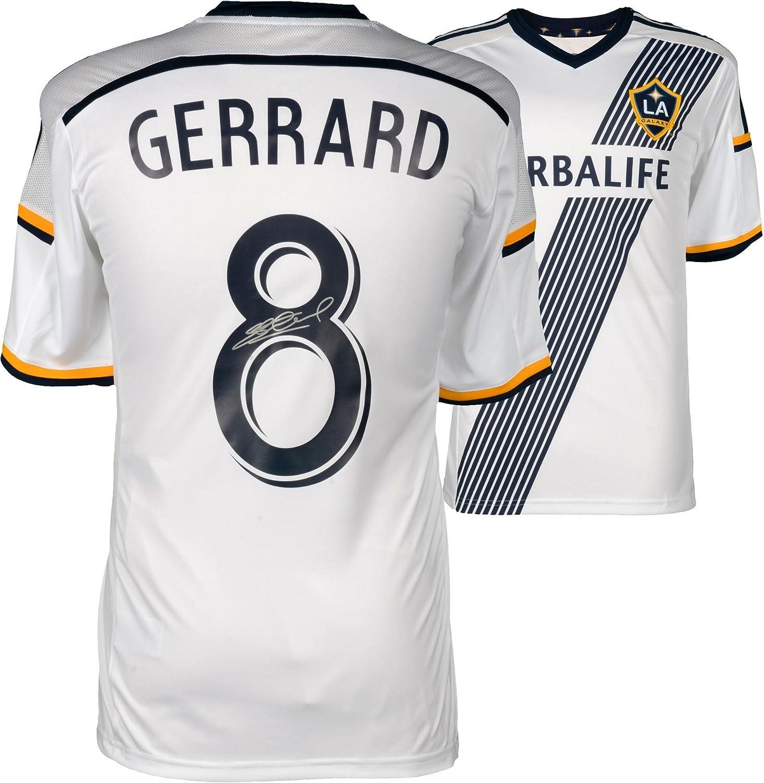 new arrival c2b73 0da92 Steven Gerrard LA Galaxy Autographed Home Jersey - Fanatics ...