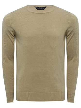 67c86a00dcbf9 M Co Mens Soft Touch Crew Neck Jumper Classic Fit Macihne Washable   Amazon.co.uk  Clothing