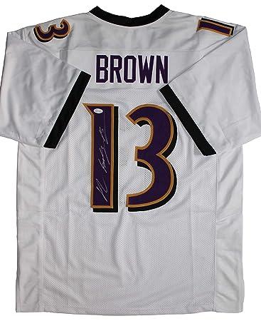 John Brown Signed Baltimore Ravens Jersey (JSA) at Amazon's Sports