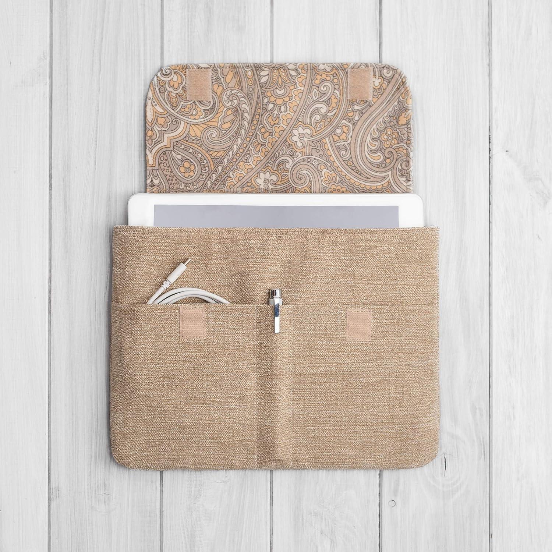 étui/housse/sleeve/pochette pour tablette iPad Pro Air Mini 9.7 10,5 11 et 12.9 tissu velours