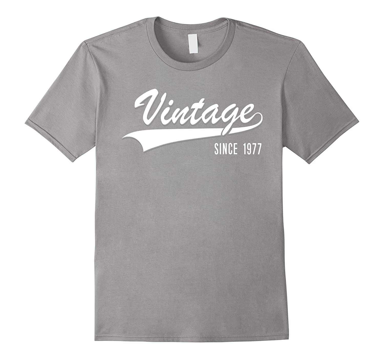 40th Birthday gift shirt Vintage since 1977 40 years old T-T-Shirt