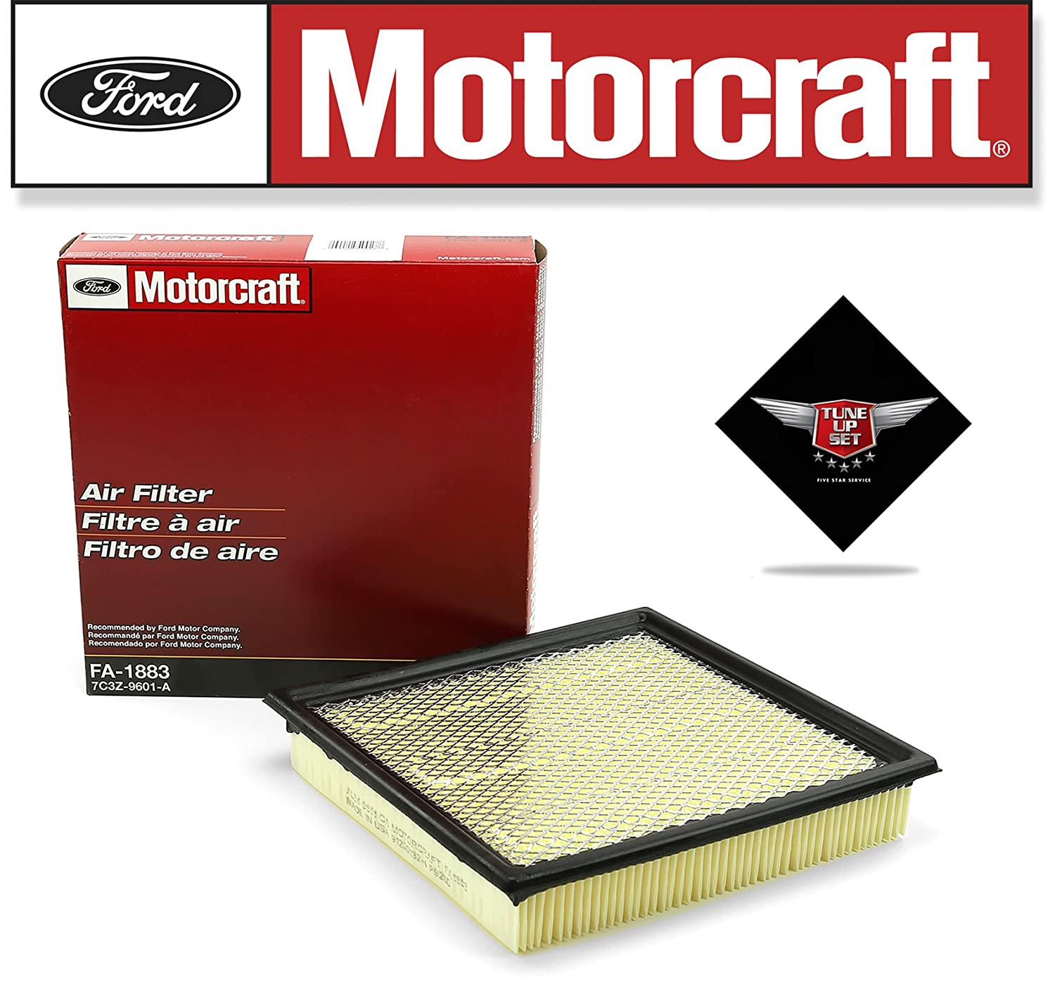 Amazon.com: MOTORCRAFT TUNE UP KIT 2009-2010 F150 V8 4.6L IGNITION COIL DG508: Automotive