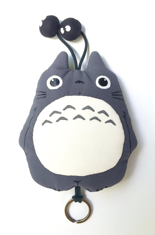 Totoro carcasa para llave Studio Ghibli tela Llavero Gray 3 ...