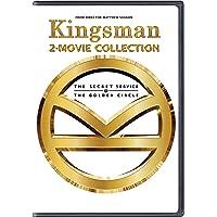 Kingsman 2 Movies Collection - The Secret Service + The Golden Circle (2-Disc)