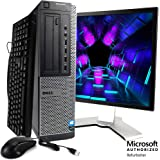 Dell Optiplex 990 Desktop Computer Package - Intel Quad Core i5 3.1-GHz