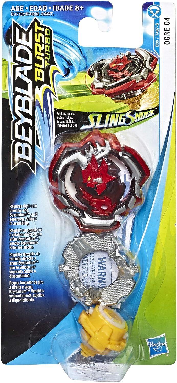 BEYBLADE Burst Turbo Slingshock Single Top Lightning-X Istros I4 Hasbro E4722AS00