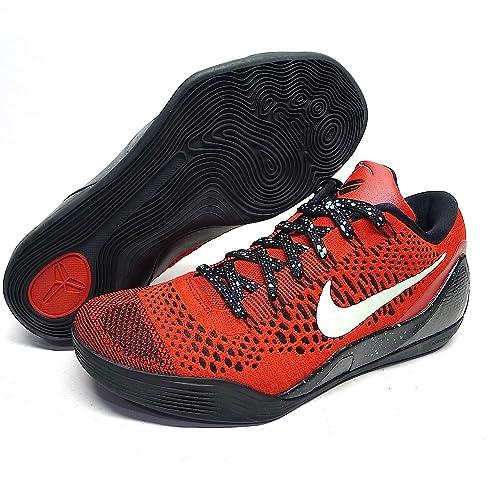 best website 488af e91f5 KOBE 9 ELITE LOW  UNIVERSITY RED  - 639045-600 (10)  Amazon.ca  Shoes    Handbags