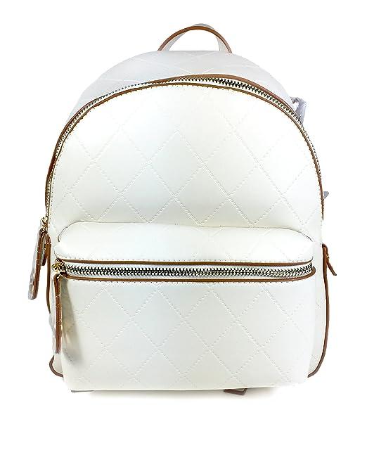 Zara - Bolso mochila para mujer blanco blanco M: Amazon.es: Ropa y accesorios