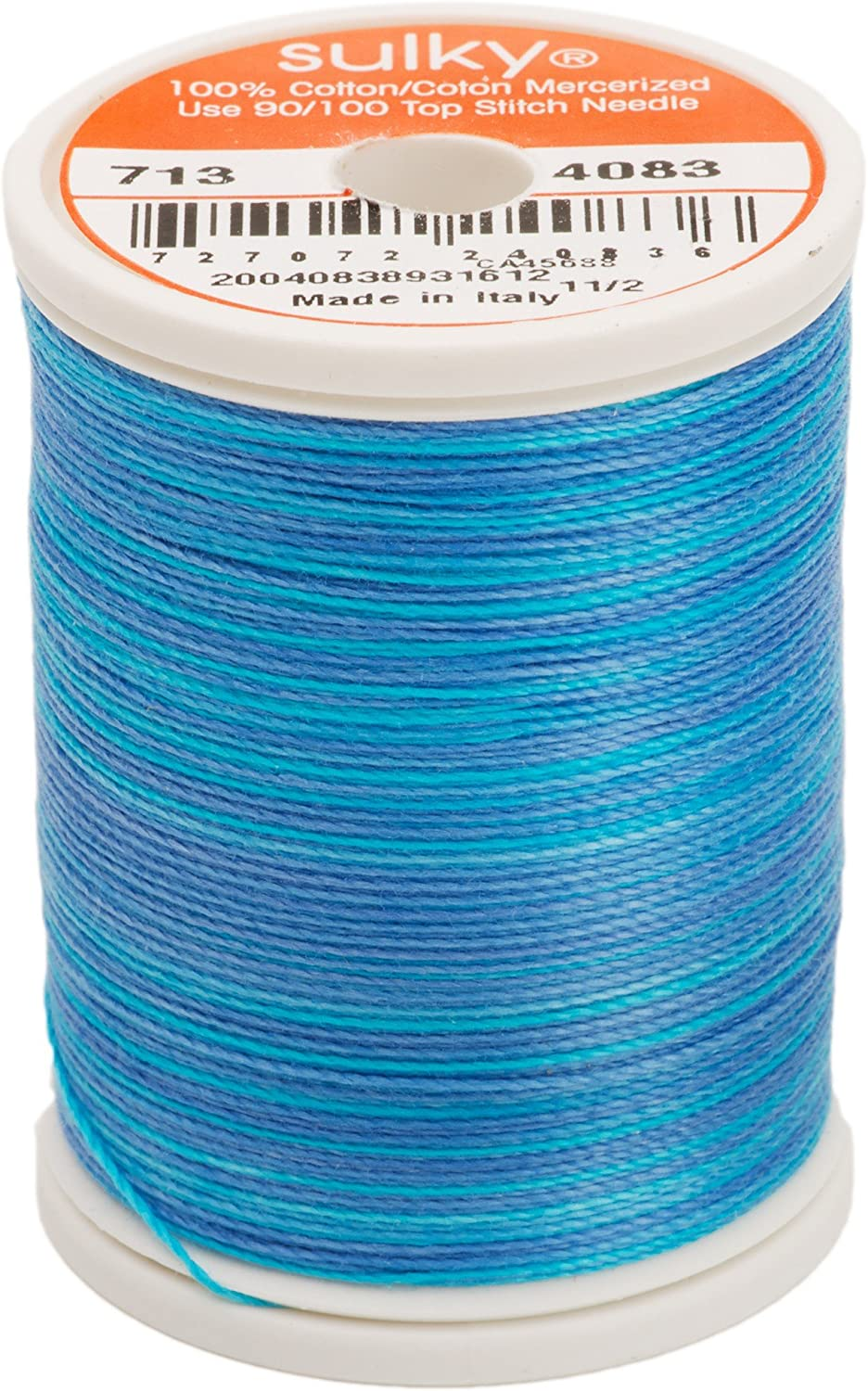 Sapphire 330-Yard Sulky 713-4083 12-Weight Cotton Blendable Thread