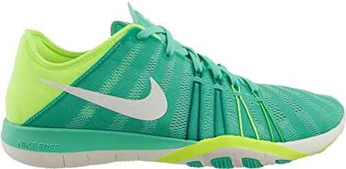 premium selection e350d 2f69a Nike Women s Free TR 6 Training Shoes Turquoise Yellow 833413 300 ...