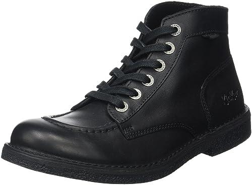Mens Kickstoner Ankle Boots, Black Kickers