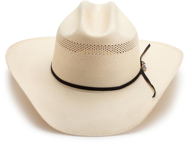 7bbe59459ef58 Greg Bourdy Ustrc Resistol Wildfire 10x Straw Cowboy Hat