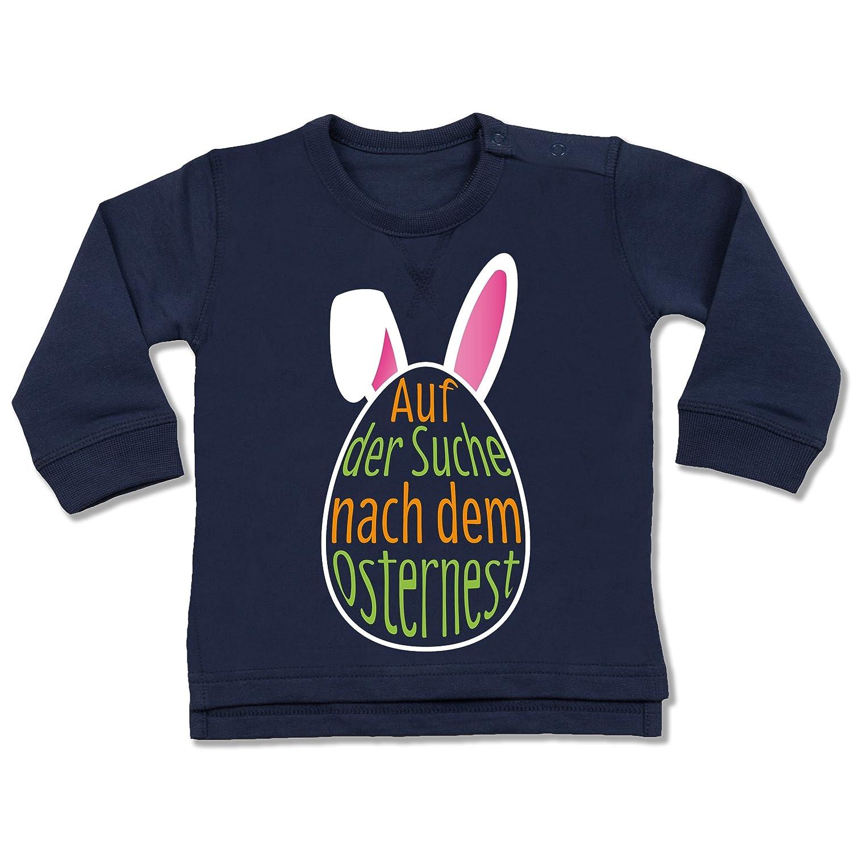 Anlässe Baby - Auf der Suche nach dem Osternest - Baby Pullover Shirtracer BZ31