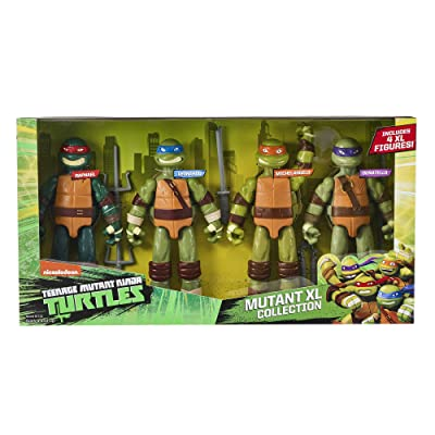 Teenage Mutant Ninja Turtles TMNT XL Figure 4 Pack: Toys & Games