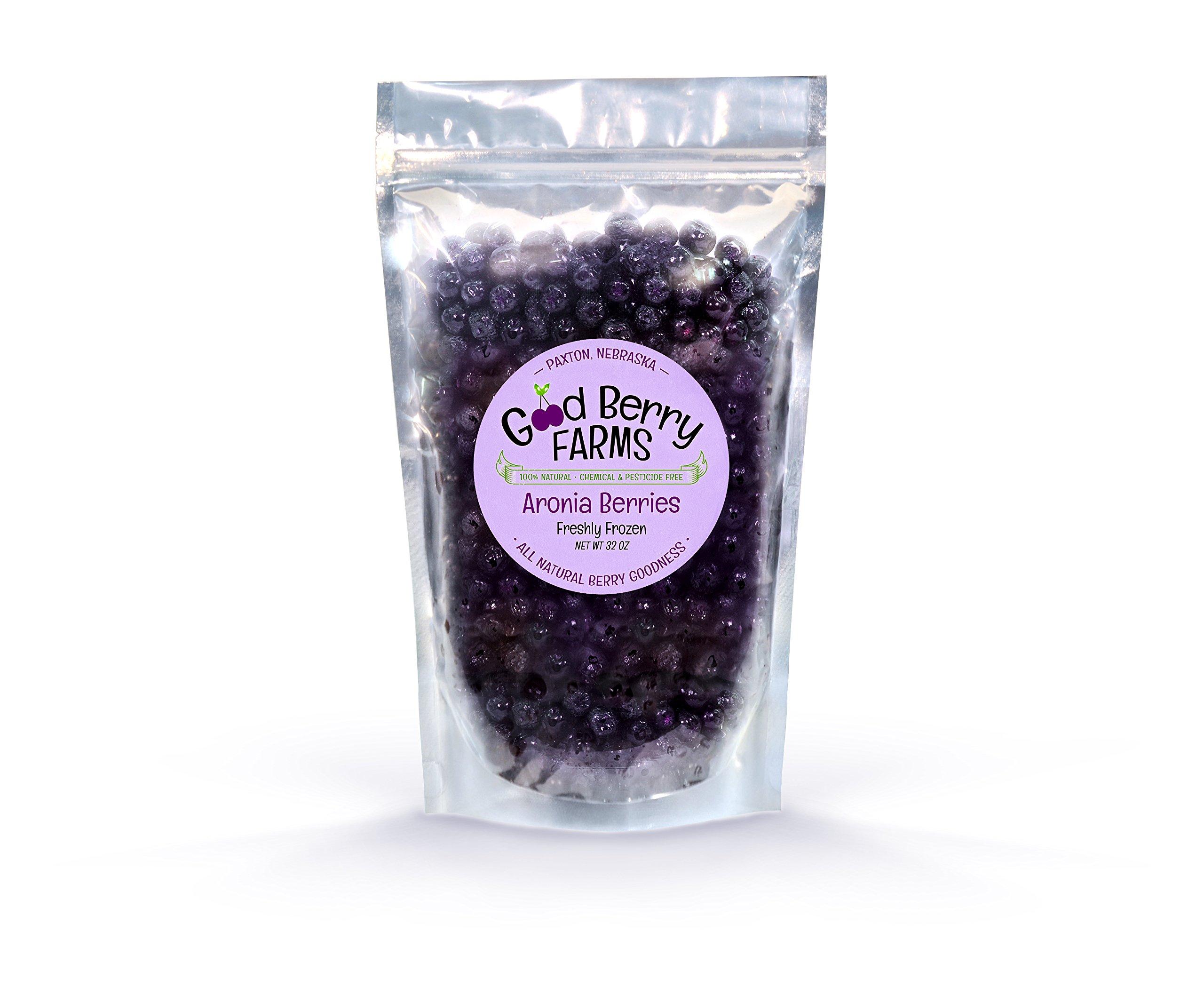 Frozen Aronia Berries - 2 lb