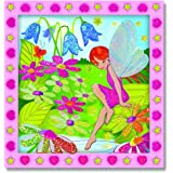 Melissa & Doug Peel and Press Sticker by Number Activity Kit: Flower Garden Fairy