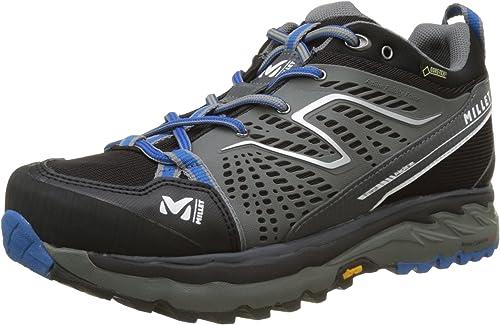 Millet Fast Alpine GTX, Zapatos de Low Rise Senderismo Unisex Adulto, Negro (Black/Blue), 42 EU: Amazon.es: Zapatos y complementos