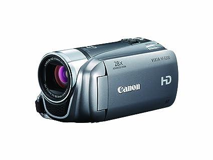 amazon com canon vixia hf r200 full hd camcorder with dual sdxc rh amazon com canon hd vixia hg20 manual Canon Vixia G10 Camcorder