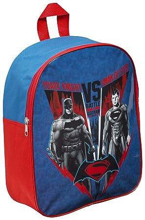Sambros Mochila Batman vs Superman, para niños. Codigo BVS-8039-CH.: Amazon.es: Juguetes y juegos
