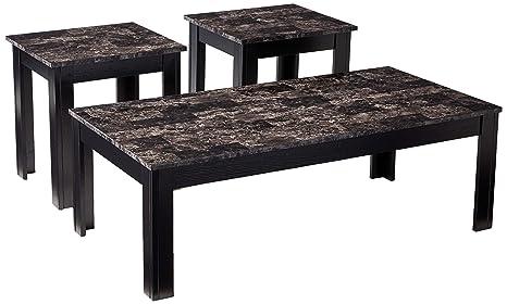 Amazon.com: Coaster Muebles juego de mesa de café de ...