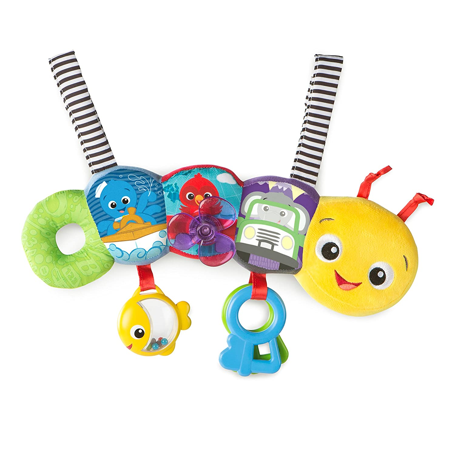 Baby Einstein Barre d'Activités Travel-Pillar Discovery Toy Bar, 11155 KidsII 11155-6