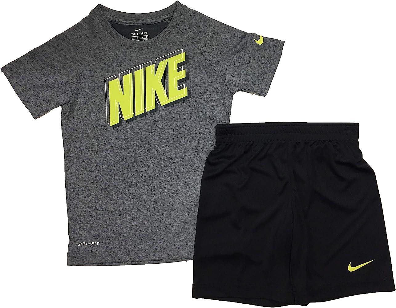 Nike Boy`s Dri-Fit T-Shirt \u0026 Shorts 2