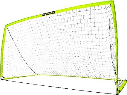 12' X 6'  Franklin Sports Blackhawk Portable Pop-Up Soccer Soccer Goal