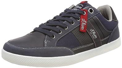 s.Oliver Herren 13636 Sneaker, Schwarz (Black Comb), 42 EU