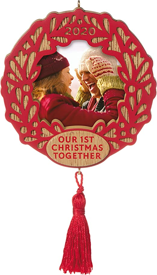 First Christmas Together 2020 Ornament Photo Frame Amazon.com: Hallmark Keepsake Ornament 2020 Year Dated, Our First